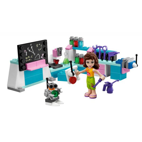 Lego Friends, Laboratório de Olivia, Química