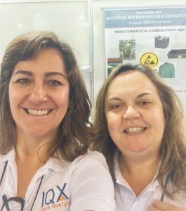 Química e Derivados, Silmara (esq.) e Carla: a IQX teve recursos do programa Pipe