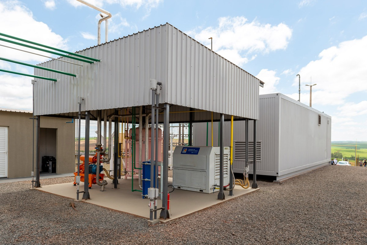 Química e Derivados - Unidade de purificação produz o biometano