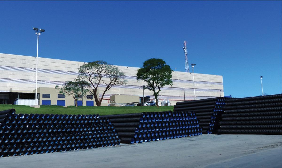 Produção de tubos da Kanaflex em Itu-SP ©QD Foto: Divulgação